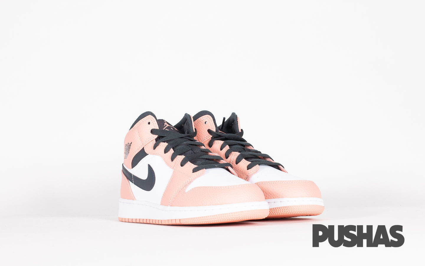 Air Jordan 1 Mid 'Pink Quartz' GS
