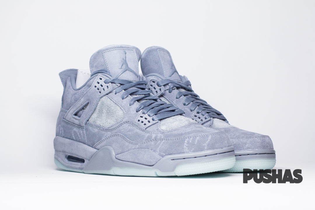 KAWS x Air Jordan 4 - Grey (New)
