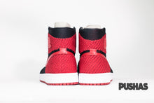 Air Jordan 1 Flyknit 'Banned' - Bred (New)
