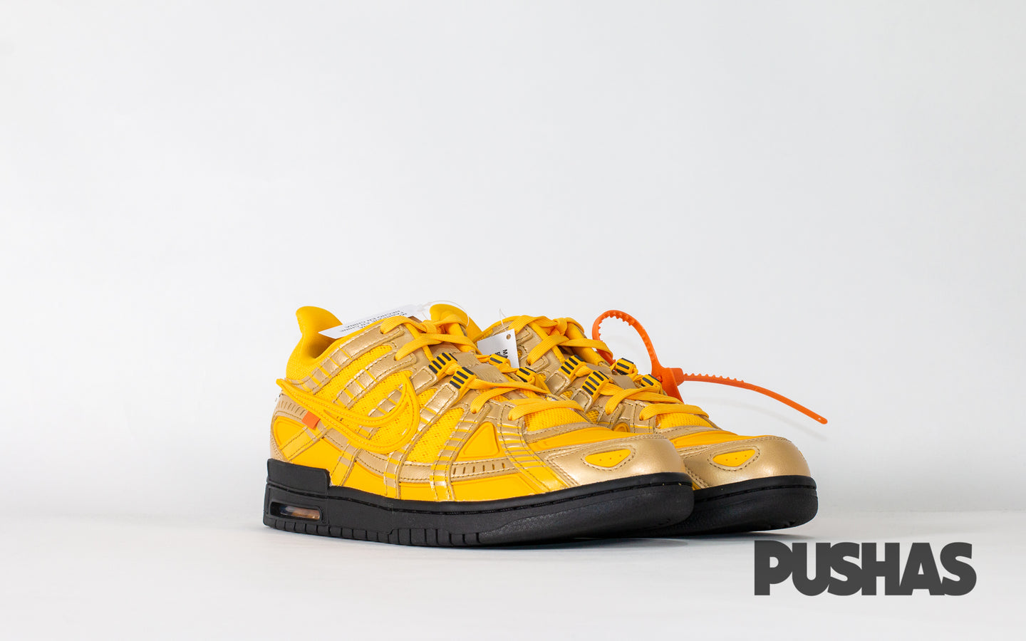 pushas-nike-Air-Rubber-Dunk-Off-White-University-Gold