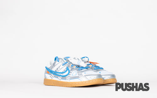 pushas-nike-Air-Rubber-Dunk-Off-White-UNC-PS