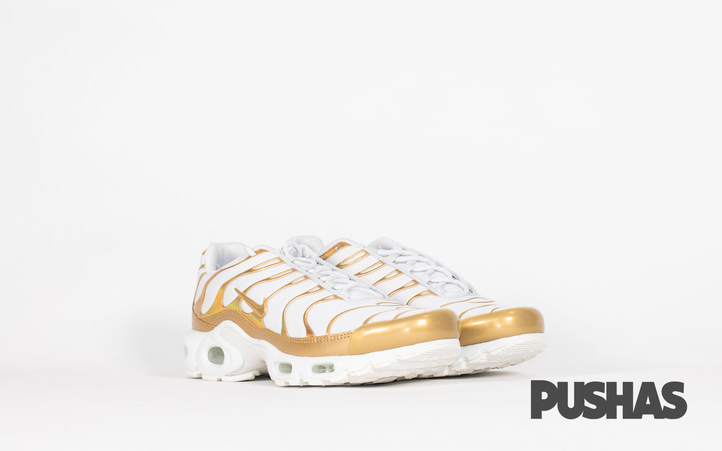 pushas-nike-Air-Max-Plus-TN-W-White-Gold