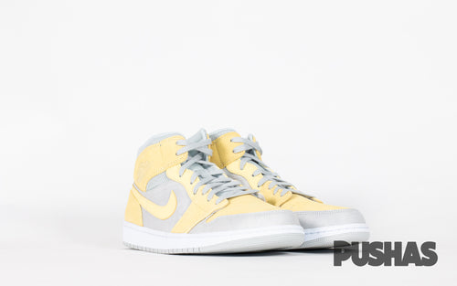 pushas-nike-Air-Jordan-1-Mid-Mixed-Textures-Yellow