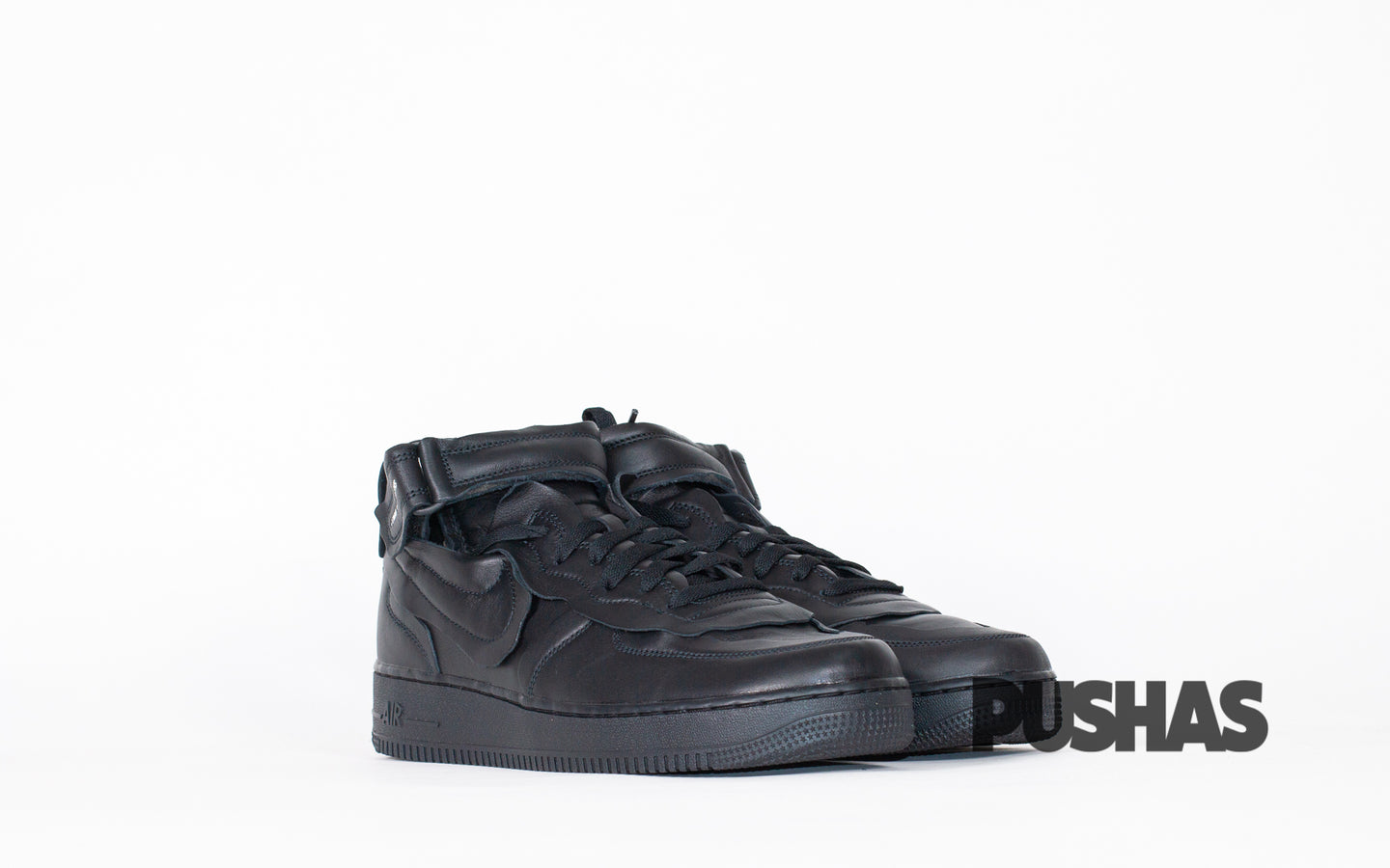 pushas-nike-Air-Force-1-Mid-Comme-des-Garcons-Black