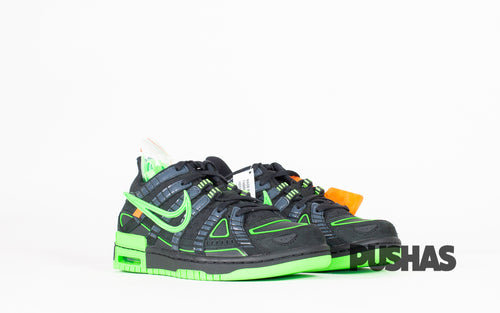 pushas-nike-Air-Rubber-Dunk-Off-White-Green-Strike