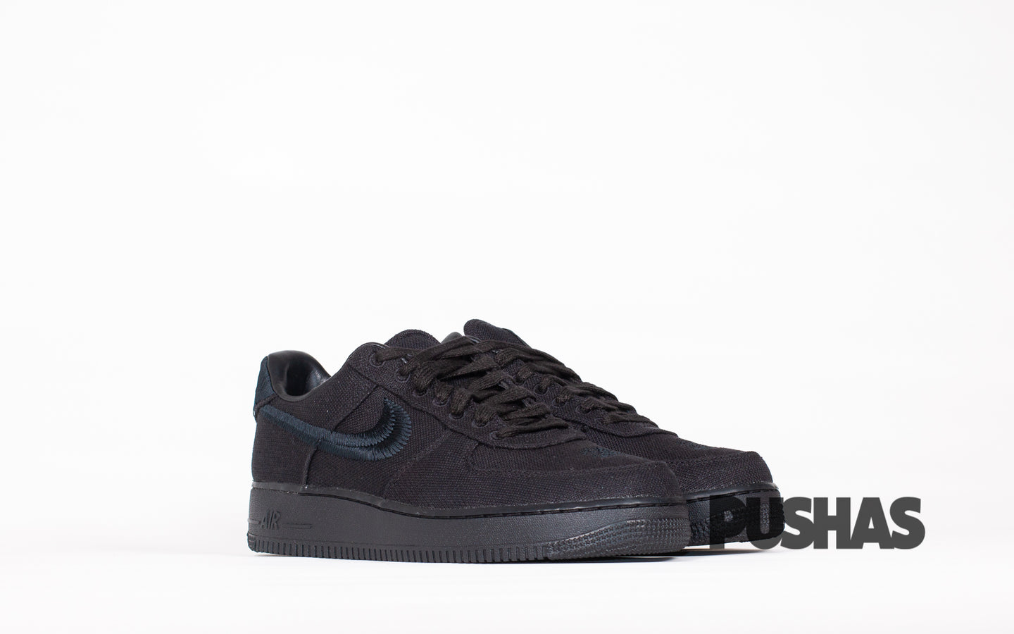 pushas-nike-Air-Force-1-Low-Stussy-Black