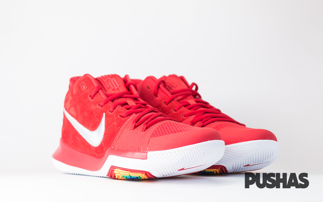 Kyrie 3 'University Red Suede' (New)
