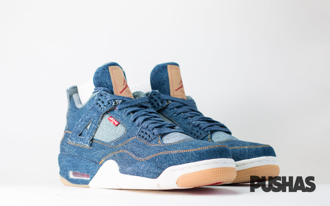 cb50ddd6463611 Air Jordan 4 x Levi s  Denim  (New) – PUSHAS
