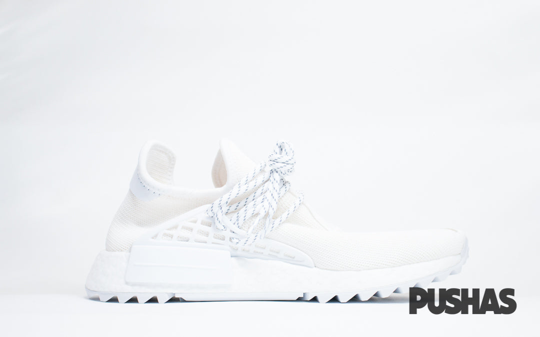 on sale c3dd4 680f2 NMD x HU Pharrell Human Race 'Blank Canvas' (New) – PUSHAS