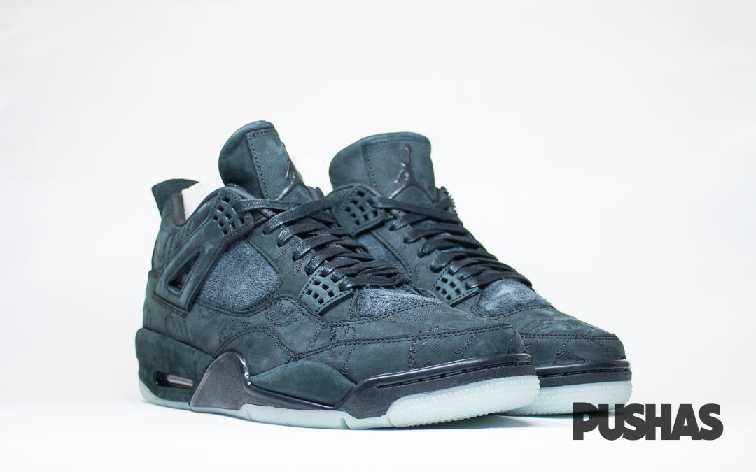 online retailer 3cdda 8c699 KAWS x Air Jordan 4 - Black (New) – PUSHAS