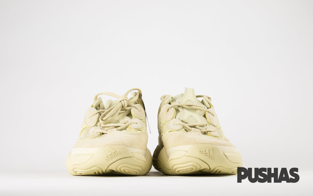 new arrival ac552 9b696 Yeezy 500 Desert Rat 'Super Moon Yellow' (New) – PUSHAS