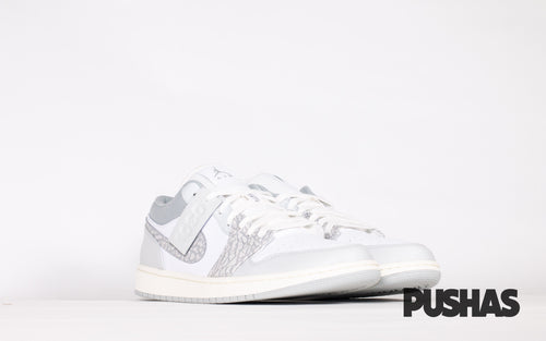 pushas-nike-Air-Jordan-1-Low-PRM-Smoke-Grey-Elephant