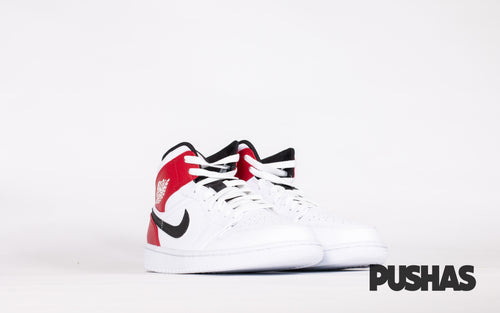 pushas-nike-Air-Jordan-1-Mid-White-Black-Gym-Red