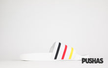 Adilette x Palace Slides White (New)