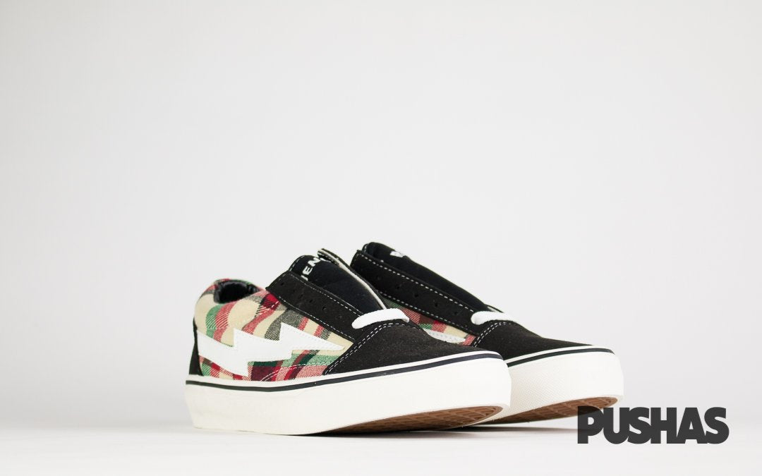 Revenge x Storm Low Top Plaid/Black (New)