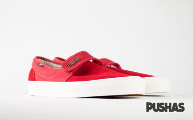 pushas-Vans-Fear-of-God-Slip-on-47-Red