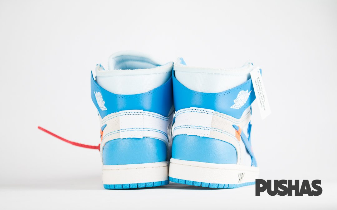 a677d909dabac1 Air Jordan 1 x Off-White  UNC  (New) – PUSHAS