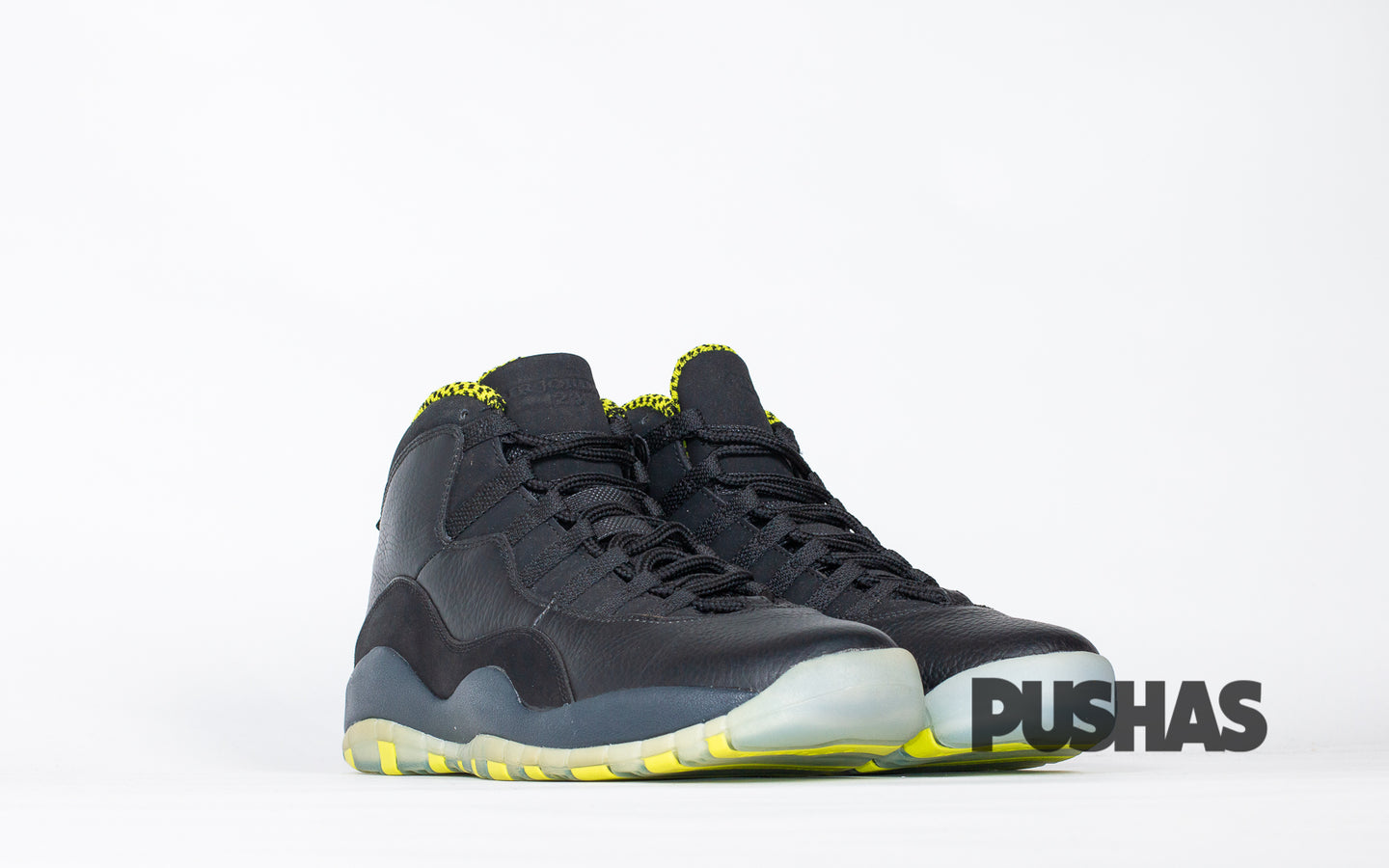 pushas-nike-Air-Jordan-10-Venom-Green