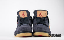 Air Jordan 4 x Levi's 'Black Denim' (New)