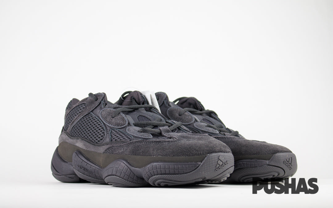 newest collection ba0ed 506bf Yeezy 500 'Utility Black' (New) – PUSHAS