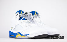 pushas-air-jordan-5-laney-blue-yellow