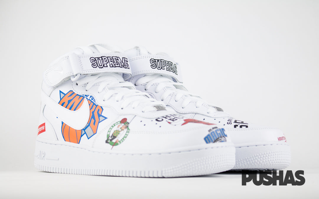 pushas-nike-Air-Force-1-Mid-Supreme-NBA-White