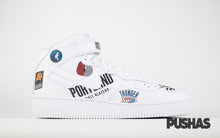 Air Force 1 Mid x Supreme x NBA - White (New)