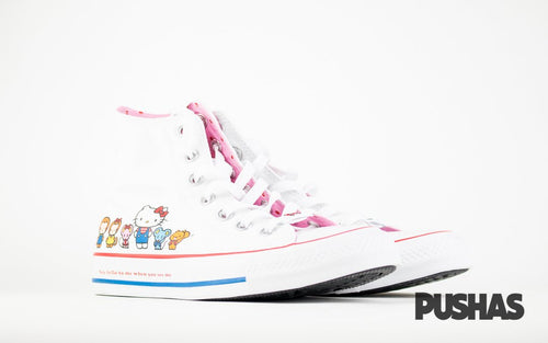 Chuck Taylor All-Star Hi x Hello Kitty - White (New)