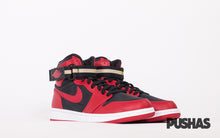 pushas-nike-Air-Jordan-1-High-Strap-black-varsity-red