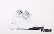 pushas-nike-air-jordan-Retro-5-Metallic-White