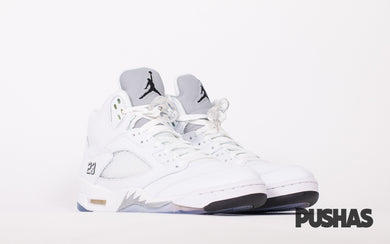122b1cabca4e pushas-nike-air-jordan-Retro-5-Metallic-White
