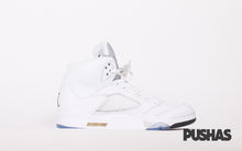 Retro 5 'Metallic White' (New)