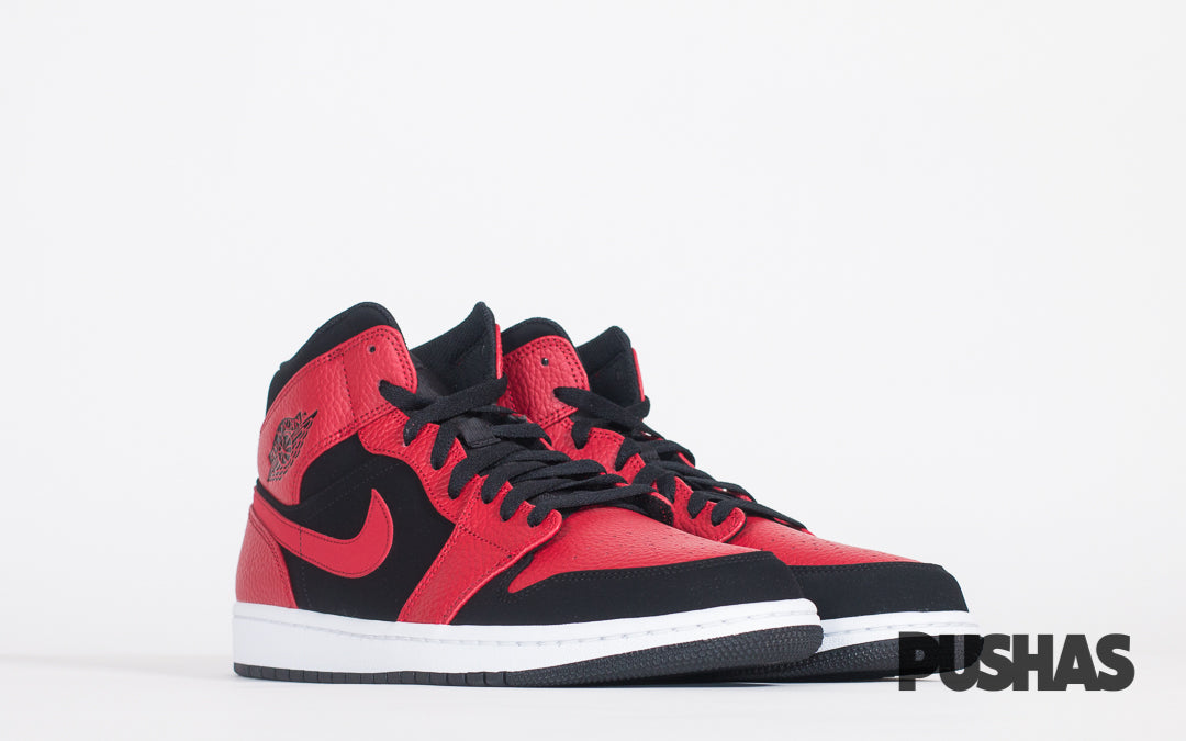 new products buy cheap presenting Air Jordan 1 Mid 'Reverse Bred' (New) – PUSHAS