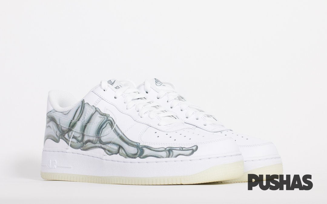 Air Force 1 Low 'Skeleton Halloween' - White (New)