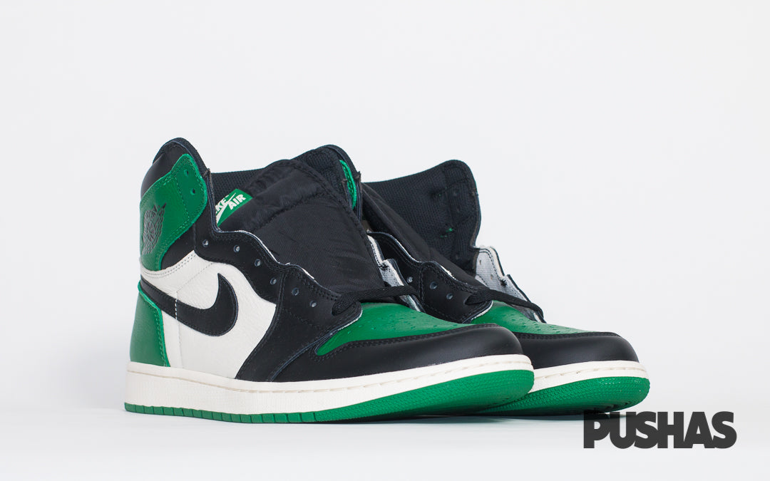 dd3a728a93b99a Nike Air Jordan 1  Pine Green  (New) – PUSHAS