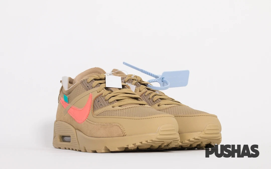 Air Max 90 x Off-White 'Desert Ore' (New)