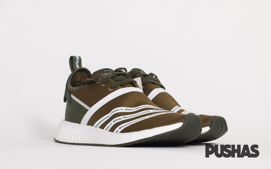 Nmd R2 Pk X White Mountaineering Trace Olive New Pushas