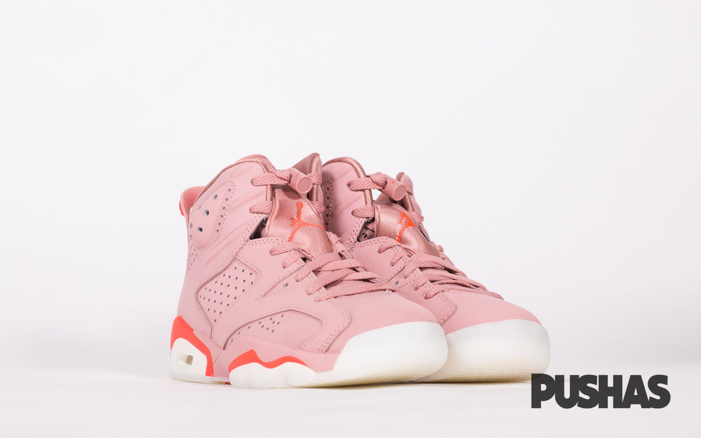 new product be649 c3032 Air Jordan 6 x Aleali May 'Millennial Pink' (New) – PUSHAS