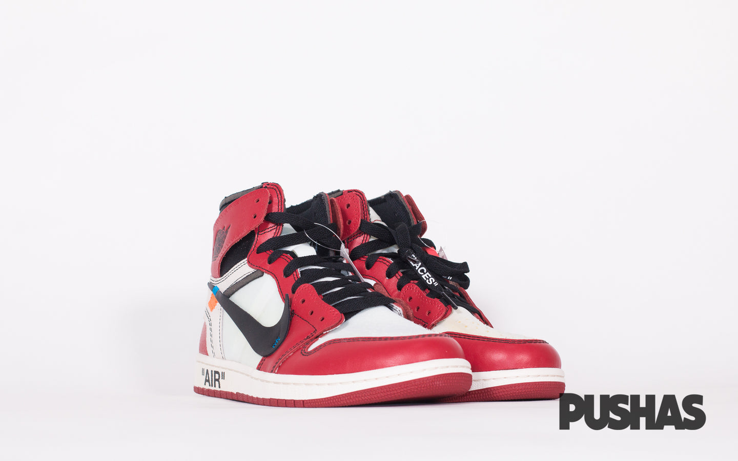 finest selection 8175f f0f18 Air Jordan 1 x Off-White 'Chicago' (New) – PUSHAS