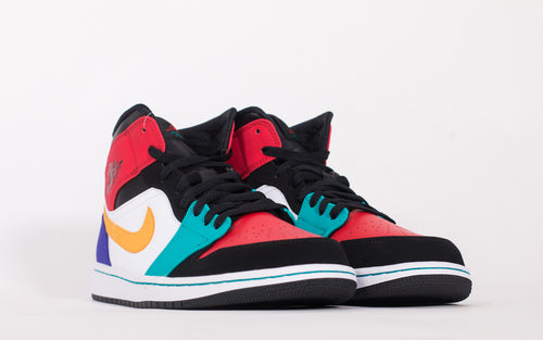 pushas-Nike-Air-Jordan-1-Mid-Bred-Multi-Colour