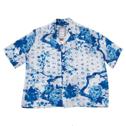 Great Firewall Silk Hawaiian Shirt