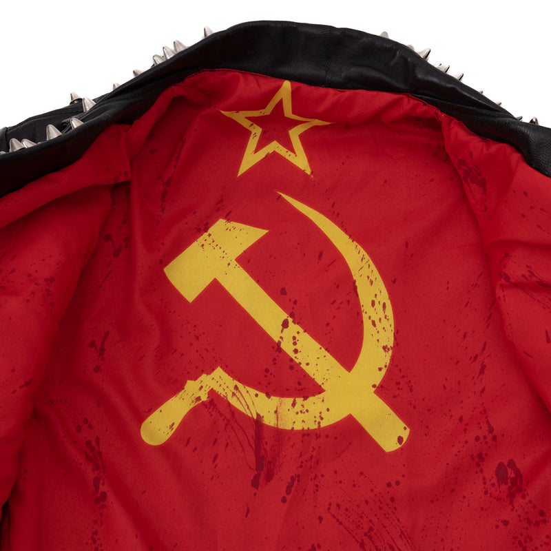 Russian Nationalist Leather Jacket
