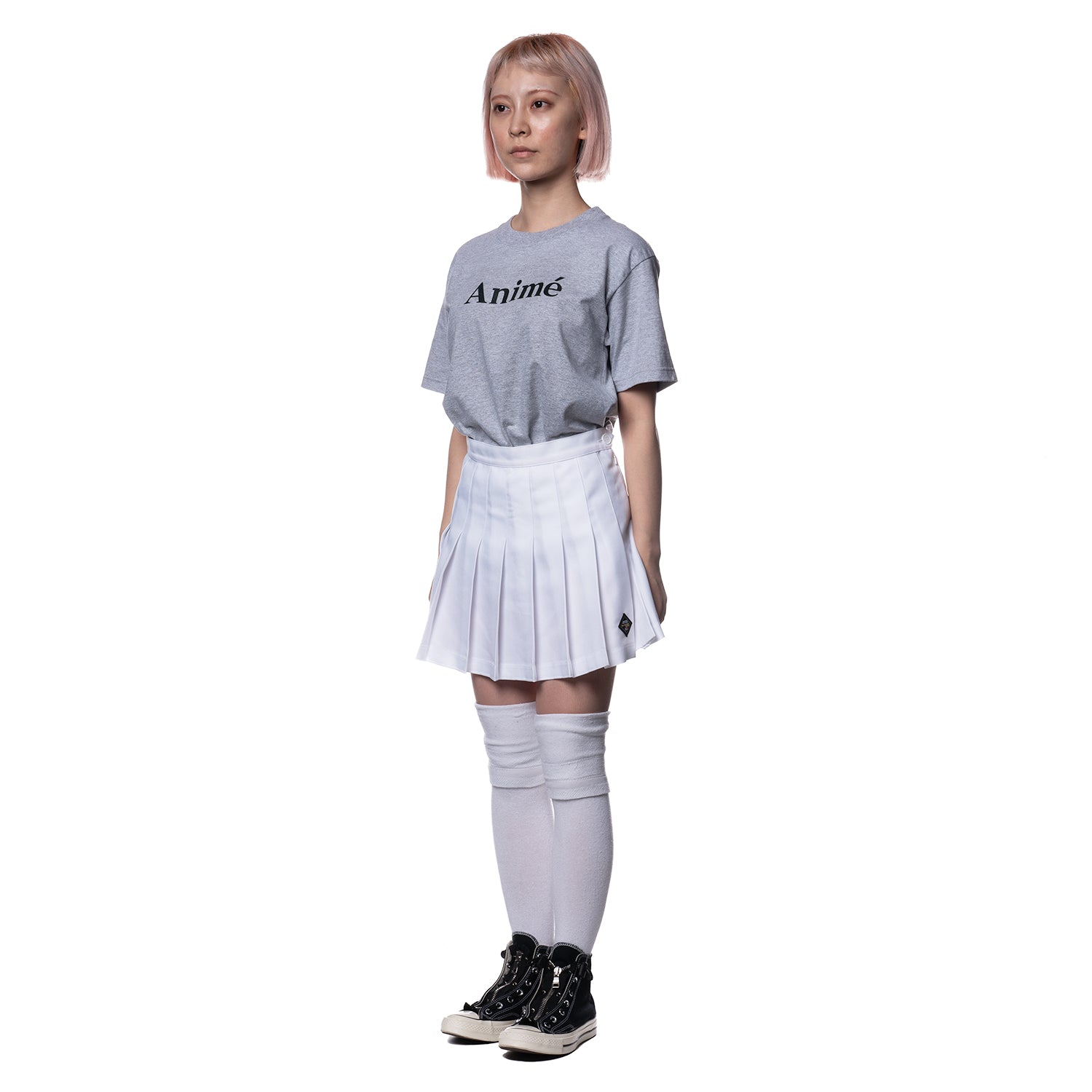 White Gore Tennis Skirt