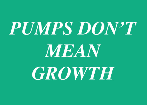Pumps don't mean muscle growth