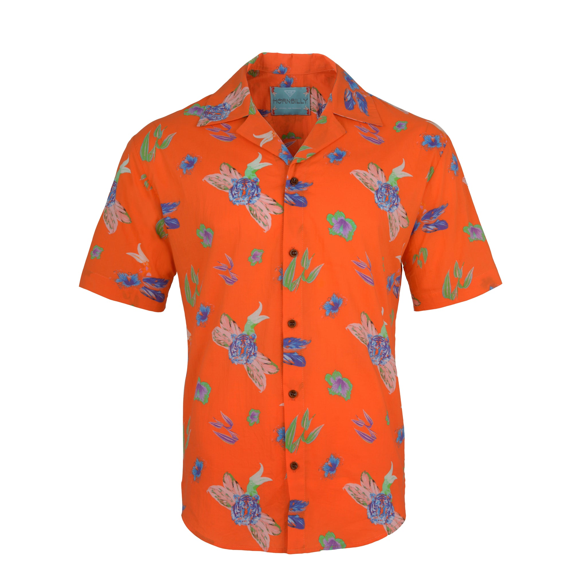 Harimau Fuoco | Muscle-Fit Printed Shirt