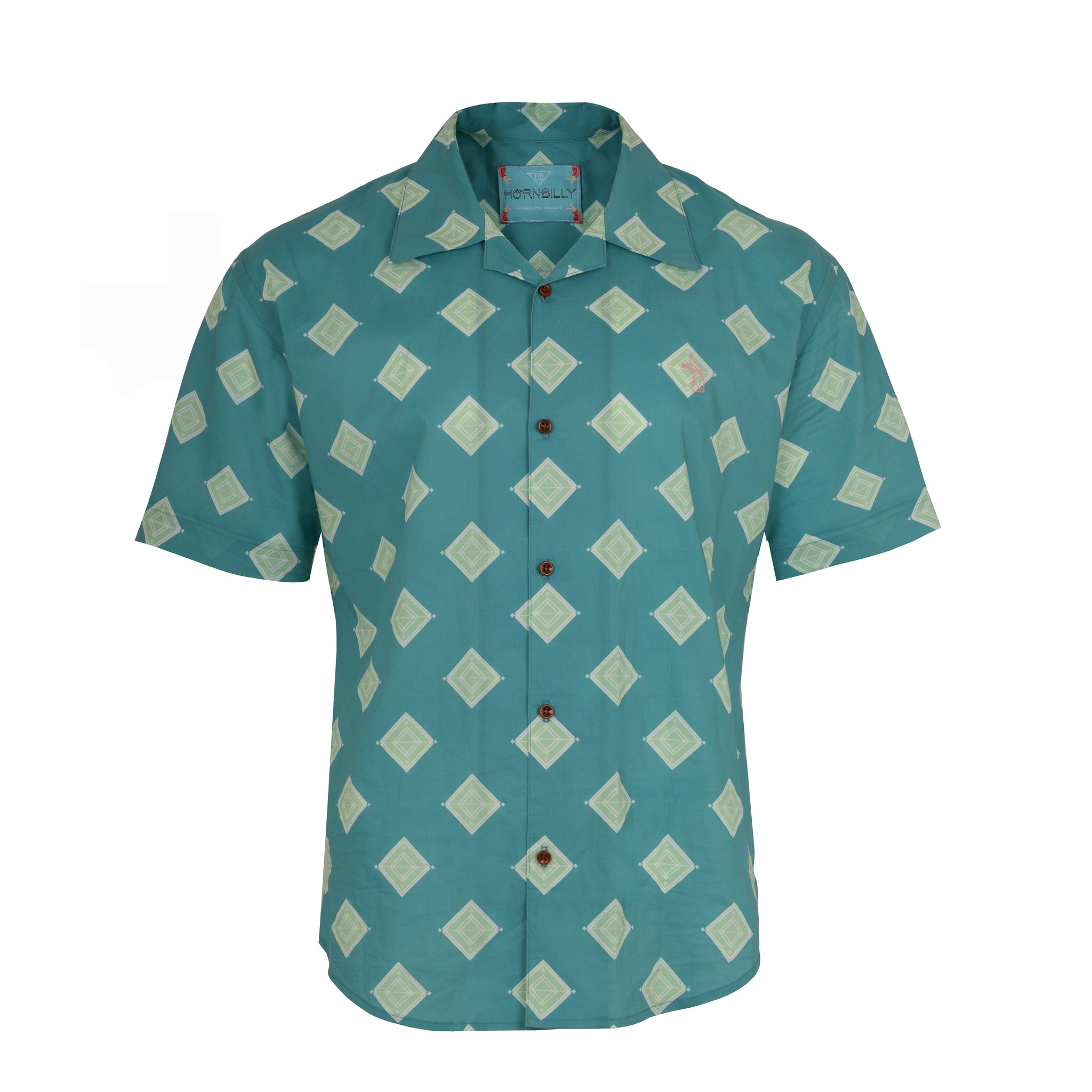Toru Clay | Muscle-Fit Printed Shirt