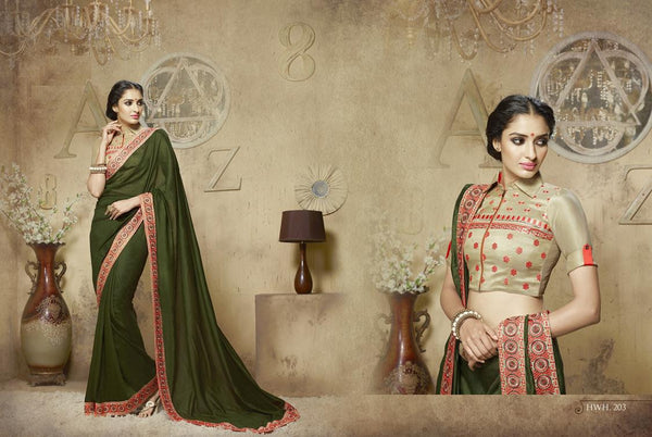 AAKRUTI VOLUME 2 Multicolor  Viscose Designer Worked Saree,2LAKT203
