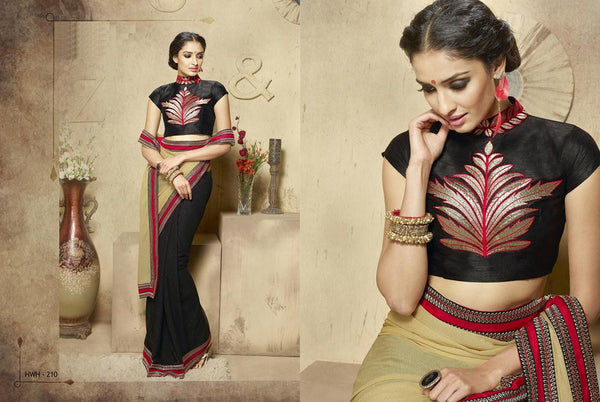 AAKRUTI VOLUME 2 Multicolor  Georgette Designer Worked Saree,2LAKT210