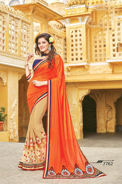 Aakruti vol 2 Multicolor  Georgette Designer worked saree,2SAKT7762