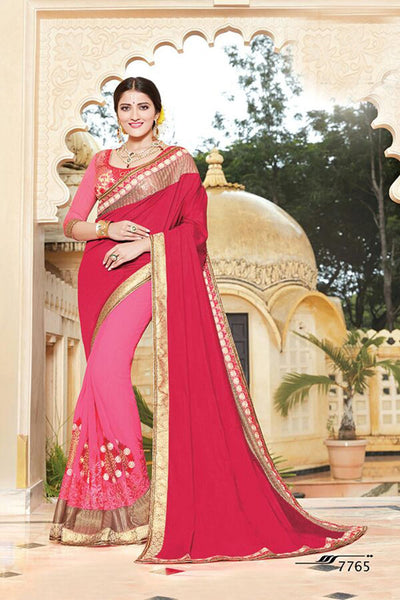 Aakruti vol 2 Multicolor  Georgette Designer worked saree,2SAKT7765